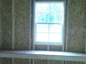 window, work bench