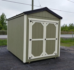 green 8 x 12 standard shed
